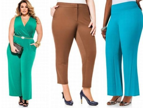 Мода для полных. Как выбрать летние брюки?