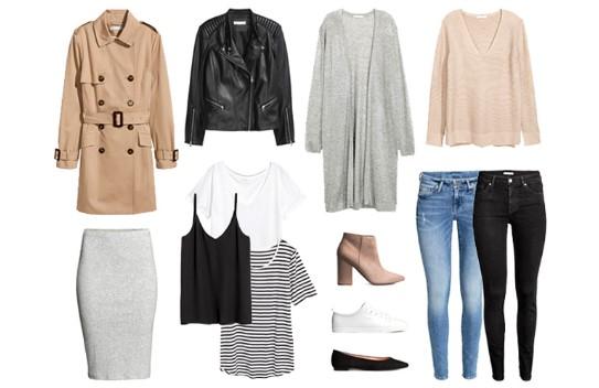 Базовый гардероб. 10 универсальных вещей