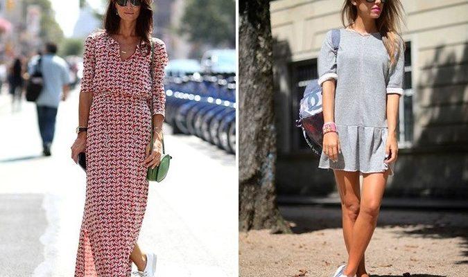 Лаконичное платье