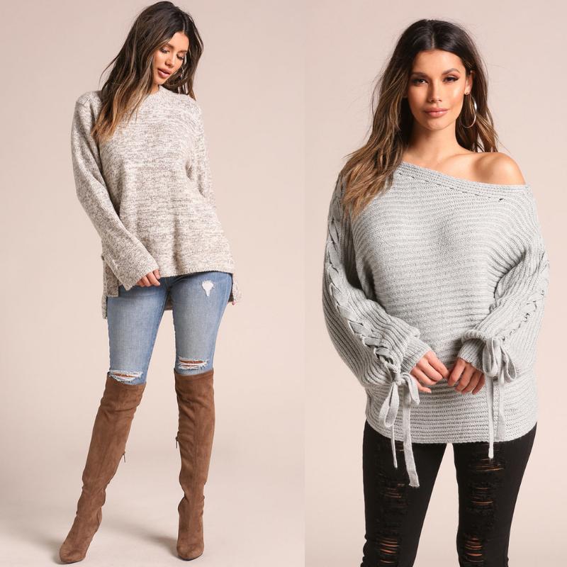 Джинсы и свитер. Стильные и уютные сочетания.