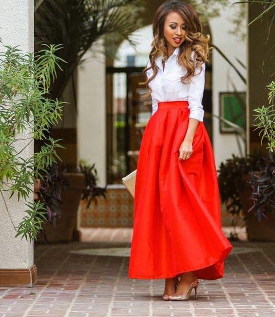 С чем носить длинную юбку: что советует стилист