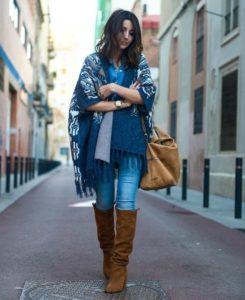 4752322cb391a64c40424590cbc0f9d3 245x300 - Как носить шарф-плед и выглядеть стильно
