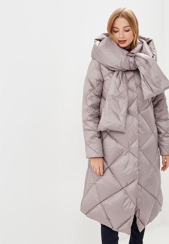 Стильные и модные пуховики на зиму 2018-2019