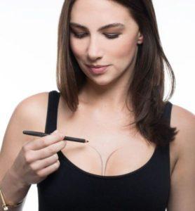 cleavage contouring 278x300 - Топ-6 трюков сделать грудь больше
