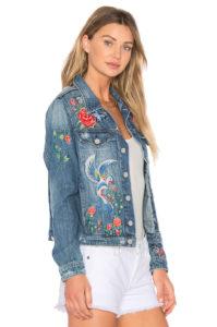 2018 women s embroidery jacquard denim jackets floral pattern vintage winter jackets single breasted slim denim 199x300 - Модный тренд-цветочная вышивка. Составляем стильные образы.