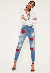 38107144 207x300 - Модный тренд-цветочная вышивка. Составляем стильные образы.