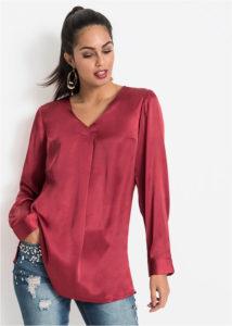 bluzka iz satina 214x300 - Как носить блузку после 40: 5 блузок, в которых вы будете выглядеть моложе