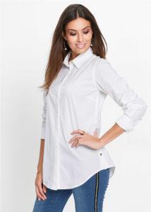 bluzka udlinennogo pokroya 1 214x300 - Как носить блузку после 40: 5 блузок, в которых вы будете выглядеть моложе