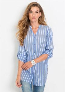 bluzka udlinennogo pokroya 2 214x300 - Как носить блузку после 40: 5 блузок, в которых вы будете выглядеть моложе