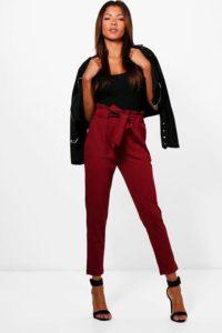 hailey paperbag waist belted trouser original 6698133 2 200x300 - Замена джинсам: брюки, которые станут № 1 в 2019 году