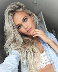 hair styles 2017 2018 see this instagram photo by hilde ekrem • 26 9k likes 240x300 - Модные оттенки для седых волос-2019