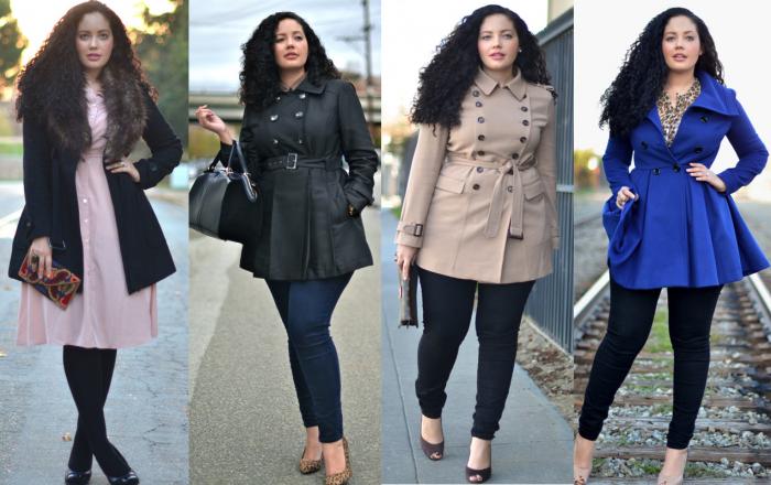 Выбираем пальто для полных женщин. 5 советов дизайнера