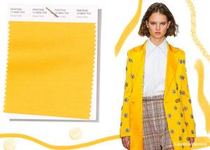 spring summer 2019 Pantone colors trends aspen gold 300x214 - Топ самых  трендовых цветов на весну 2019 года