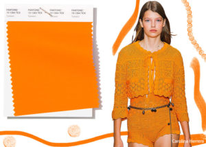 spring summer 2019 Pantone colors trends turmeric 300x214 - Топ самых  трендовых цветов на весну 2019 года