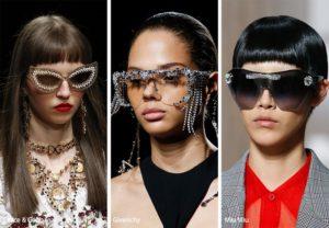 spring summer 2019 sunglasses eyewear trends bejeweled sunglasses 300x208 - Модные тенденции солнцезащитных очков на весну-лето 2019