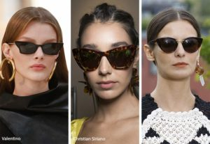 spring summer 2019 sunglasses eyewear trends cat eye sunglasses 300x207 - Модные тенденции солнцезащитных очков на весну-лето 2019