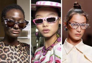 spring summer 2019 sunglasses eyewear trends patterned framed sunglasses 1 300x207 - Модные тенденции солнцезащитных очков на весну-лето 2019