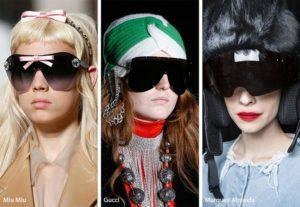 spring summer 2019 sunglasses eyewear trends shield sunglasses2 300x207 - Модные тенденции солнцезащитных очков на весну-лето 2019