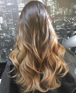 ombre dlinnye 247x300 - Модные окрашивания волос 2019