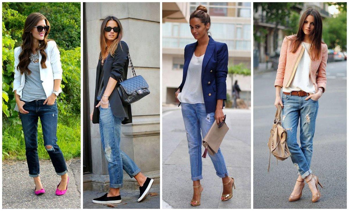 Как выбрать и с чем носить джинсы-бойфренды