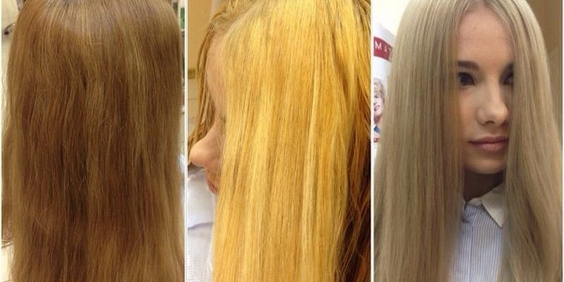 zheltizna 3 800x400 - Как убрать желтизну с волос