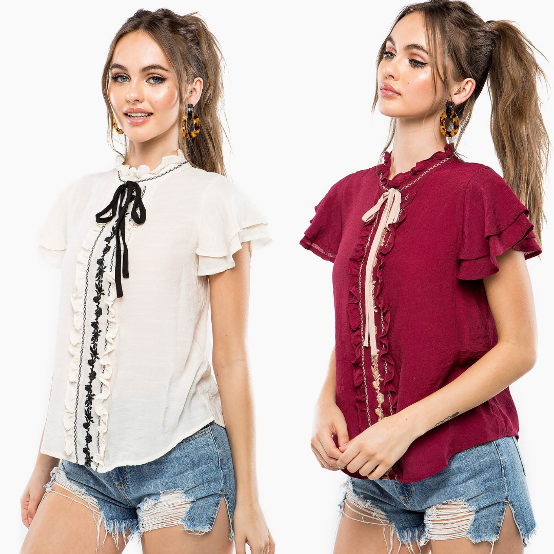 Красивые и модные блузки на лето-2019. Выбери свою!