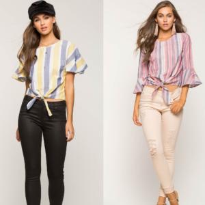 Untitled design 46 300x300 - Красивые и модные блузки на лето-2019. Выбери свою!